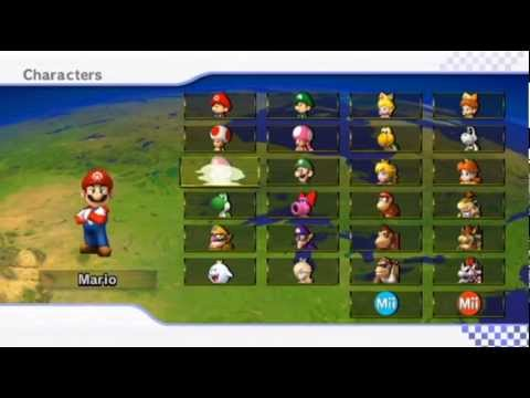 Mario Kart Wii - - Online Races 157: Super Mario World Cup I