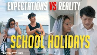Expectations VS Reality: Types of Students During Holidays