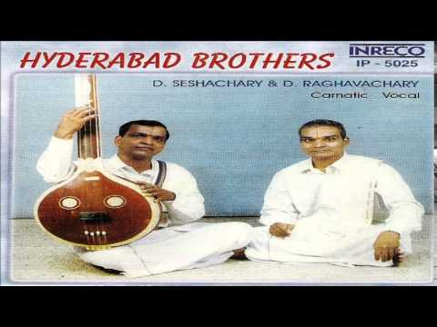 CARNATIC VOCAL - HYDERABAD BROTHERS | JUKEBOX