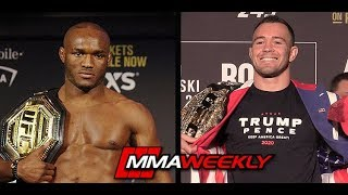 Kamaru Usman: Colby Covington is the perfect Dance Partner (UFC 245)