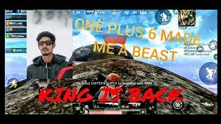 I CHANGED THE DEVICE AND IT REALLY WORKED | ONE PLUS 6 MADE ME A BEAST OF PUBG MOBILE |