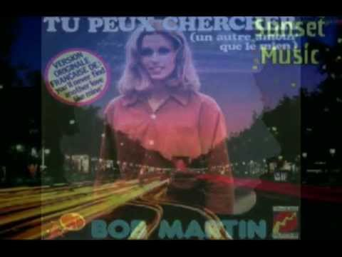 Music video Bob Martin - Tu peux chercher - You'll never find another love like me 1976 - Music Video Muzikoo