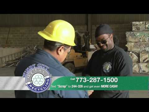 Windy City Metal Recycling Pays You Cash for Scrap Metals, Computers and Electric Motors