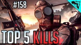 Battlefield 4 Top 5 Kills (Backflip Helo, Double Mortar,  Rende-Ridiculous, & Headshots) WBCW #158