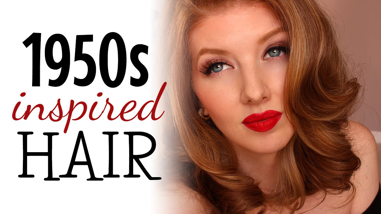 1950s Inspired Hair Tutorial YouTube