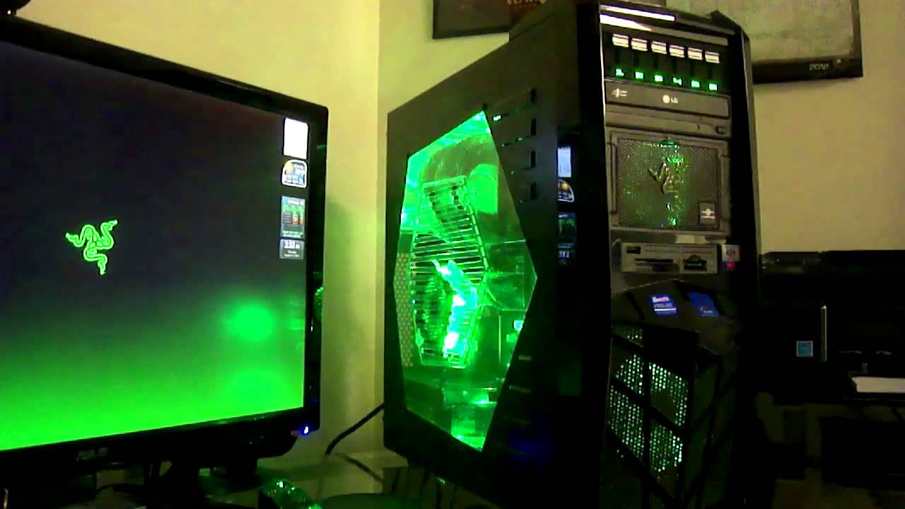 My Razer Pc Part 2 Apevia X Trooper Build Youtube
