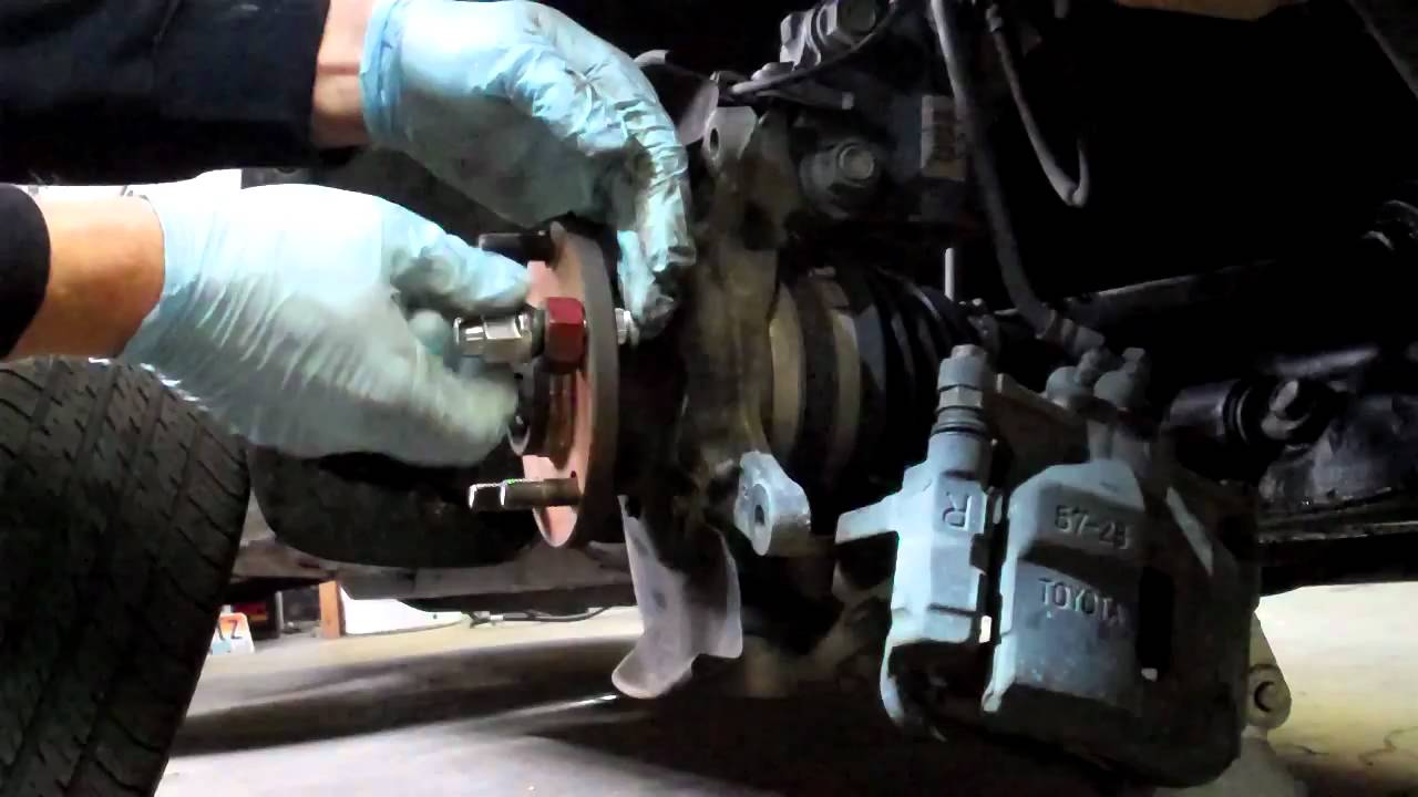 How To Replace A Wheel Stud Bolt Youtube