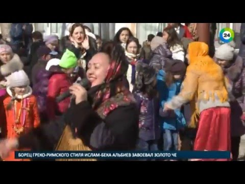 Наша Масленица  в 5 школе Астаны 12,03,2016