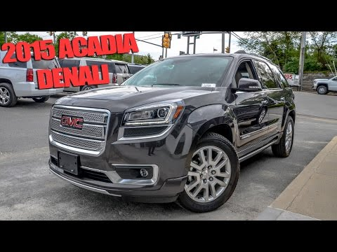 2015 GMC Acadia Denali - Quick Look!