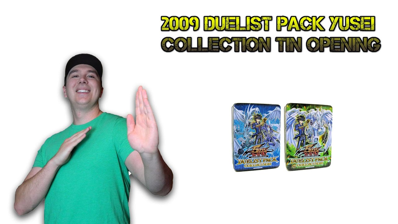 Duelist Pack Yusei Pack Yusei Collection Tin
