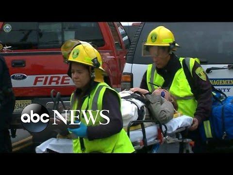 NJ Train Crash Survivor Describes the Scene
