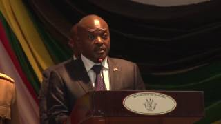 H.E Pierre Nkurunziza dignified with his presence the 6th EAC health and scientific conference