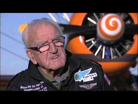 Guinness World Records Day 2010: World s Oldest Wing Walker