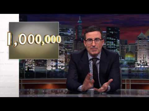 1,000,000 YouTube Subscribers (Web Exclusive): Last Week Tonight with John Oliver