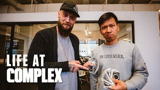 MAGICIAN CHRIS RAMSAY STOPS BY THE COMPLEX OFFICE! | #LIFEATCOMPLEX