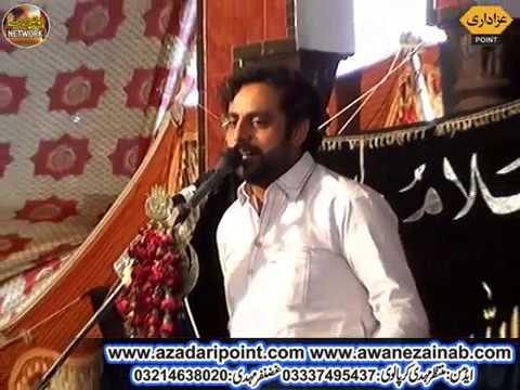 Zakir Sajid Hussain Shah majlis Aza 30 march 2019 Mustafa Abad Sher Garh Okara