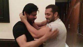 Salman wished Shah Rukh 50th birthday