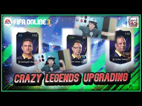 My Most Crazy Legends Upgrading yet - FIFA ONLINE 3