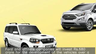 Mahindra signs deal with US' Ford to make midsize SUVs in India