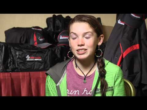 Grace Tinkey before Foot Locker CC Champs 2011