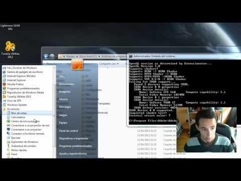 Tutorial - Cómo añadir soporte CUDA de tarjetas gráficas Nvidia en Adobe Premiere