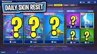 The NEW DAILY Items In Fortnite: Battle Royale! (Skin Reset #129)