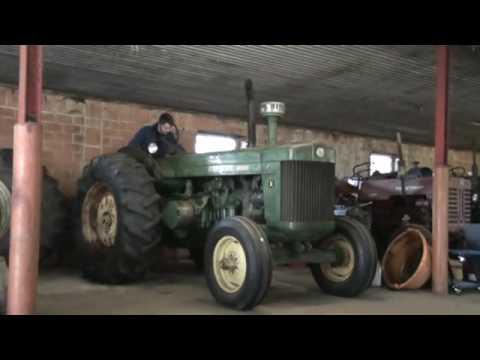 1950 John Deere R start up