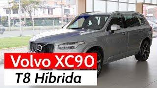 Volvo XC90: el concepto futurista en una SUV premium