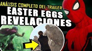 ¡LO QUE NO VISTE! Spider-Man Far From Home Trailer ¿Antes o después de Avengers 4? | Análisis