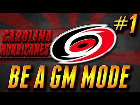 NHL 14 GM Mode: Carolina Hurricanes Ep.1