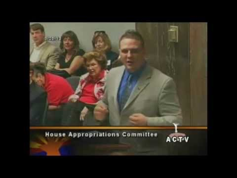 Republican Candidate Aaron Borders testifies against Obamacare Medicaid Expansion in Arizona