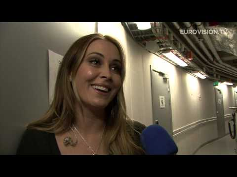 Anouk - Birds (The Netherlands) 1st Rehearsal and backstage