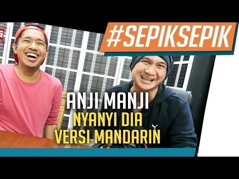 Anji Manji - Nyanyi DIA Versi Mandarin