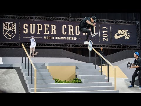 Nyjah Huston SLS Super Crown 2017
