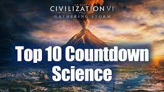 Civilization 6: Top 10 Countdown - Best Science Victory Civs!
