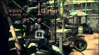 Resident Evil 5 - 1vs1 with PlatinumChaser this kid is some trashtalker lol