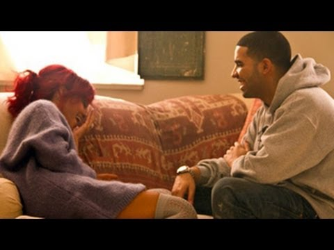 Rihanna & Drake - Romantic Night Out Together - Chris Brown Out Of The Scene