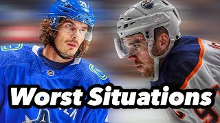 6 NHL Players Currently In The Worst Situations