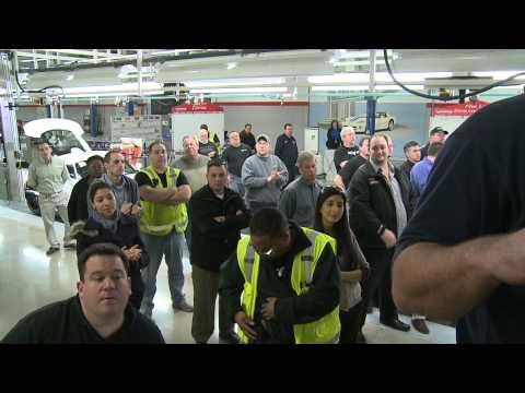 First 2013 SRT Viper Claimed by Owner at Detroit's Conner Avenue Assem