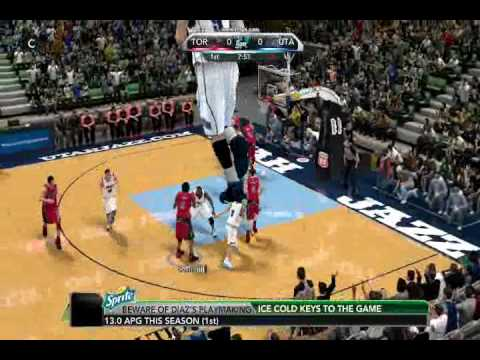 NBA 2K10 - My 25 5   player and my 0 5   player. (A LOL VIDEO!!!!!!)