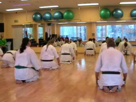 2009 Kyokushin Training Image 1