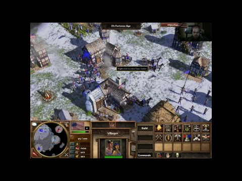 Live Energy Rambles: Age of Empires 3 (Long Haul, chatting)