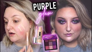 PURPLE GLAM MAKEUP TRANSFORMATION
