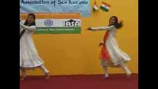 Mera Desh Rangila---Megha and Sujata Dance on IASA independence day celebration
