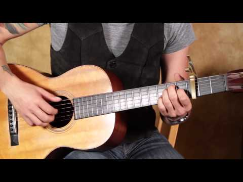 James Taylor - Fire And Rain - How To Play On Acoustic Guitar Lesson - Finger Picking Guitar