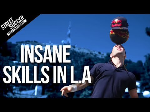 Insane Football Skills L.A. with Séan Garnier, Indi Cowie and Taboo | Black Eyed Peas