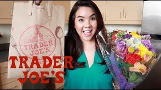 Trader Joes HAUL - SHOP WITH ME  | Jerlyn Phan