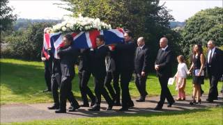 Funeral of IndyCar racer Justin Wilson