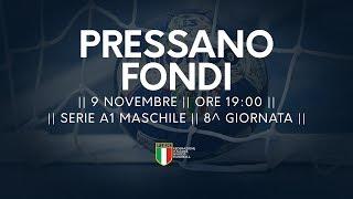 Serie A1M [8^]: Pressano - Fondi 31-25