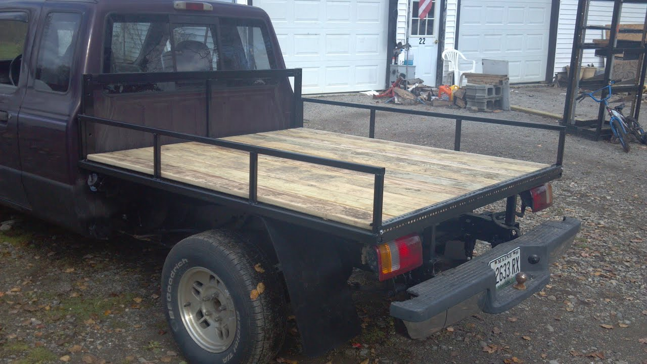 Flatbed How To Build And Walk Around Ford Ranger 93